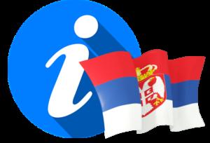 Serbia Tourist Info Logo